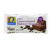 O Organics Organic Baking Chocolate Unsweetened - 4 Oz