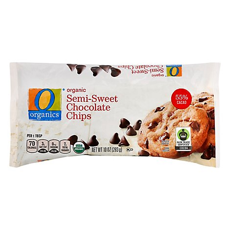 O Organics Organic Chocolate Chip Semi Sweet - 10 Oz