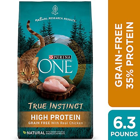 One Cat Food Dry Chicken - 6.3 Lb