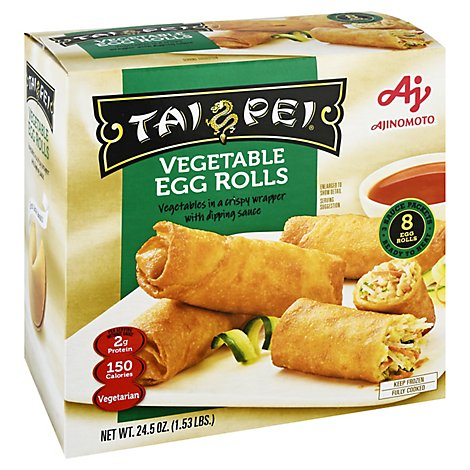 Tai Pei Vegetable Egg Roll - 24.5 Oz