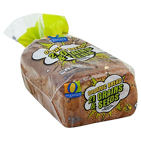 O Organics Bread 24 Grains & Seeds - 27 Oz