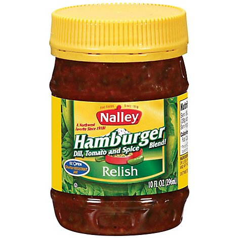 Nalley Hamburger Relish - 10 Oz