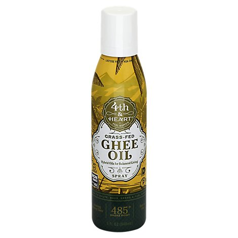 4th Heart Oil Ghee Spray - 5 Oz