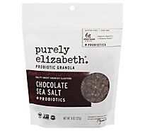 Purely Elizabeth Granola Probiotic Chocolate Sea Salt - 8 Oz