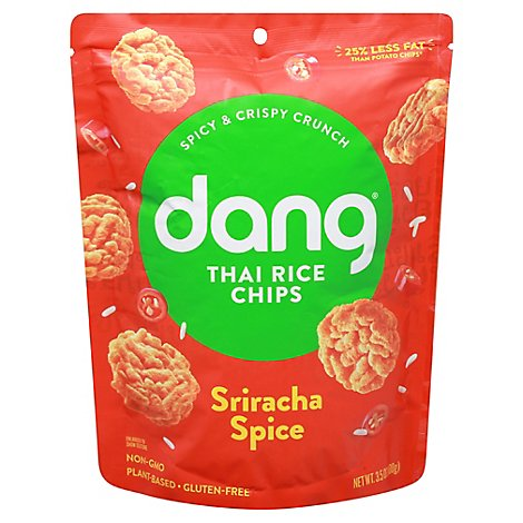 Dang Sticky Rice Chips Sriacha Spice - 3.5 Oz
