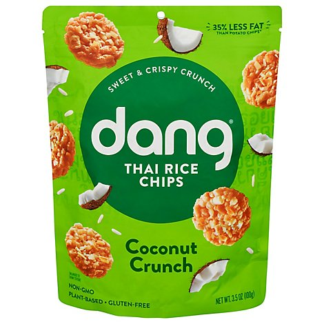 Dang Stick Rice Chips Coconut Crunch - 3.5 Oz