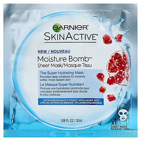 Garnier Moisture Bomb Hydrating Sheet Mask - Each