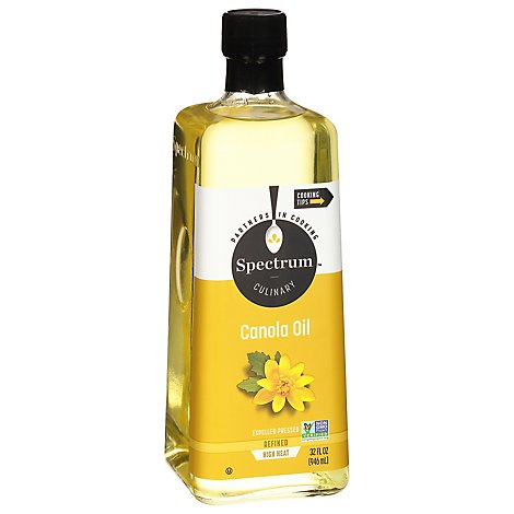 Spectrum Oil Canola High Heat Refined - 32 Oz