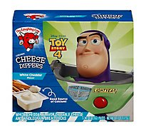 The Laughing Cow Cheese Dippers Creamy White Cheddar & Whole Grain Breadsticks 5 snack packs