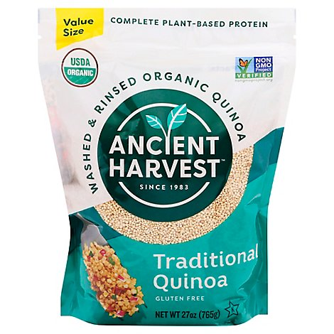 Ancient Harvest Quinoa Traditional Pouch - 27 Oz