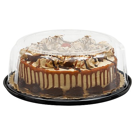 Bakery Cake 1 Layer Snickers - Each