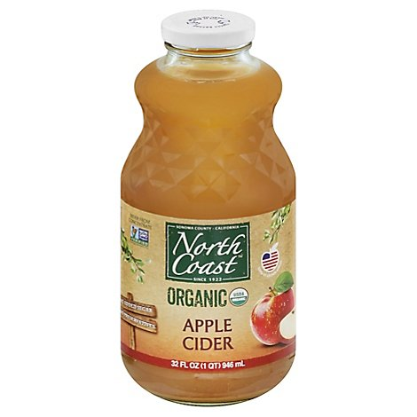 North Coast Juice Organic Apple Cider - 32 Fl. Oz.