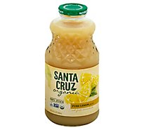 Santa Cruz Juice Lemon 100% Organic - 32 Fl. Oz.