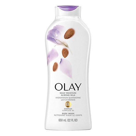 Olay Daily Body Wash Moisture With Almond Milk - 22 Fl. Oz.