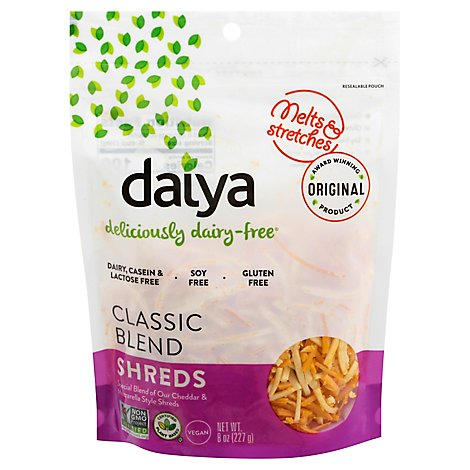 Daiya Shredded Classic Blend Cheese - 8 Oz