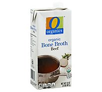 O Organics Organic Bone Broth Beef - 32 Oz