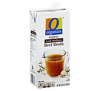O Organics Organic Broth Low Sodium Beef - 32 Oz