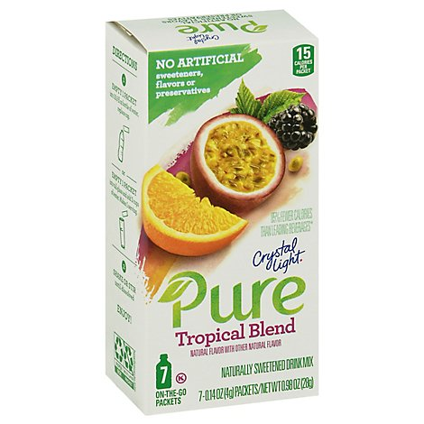 Crystal Light Pure Tropical Blend - 7-.14 Oz