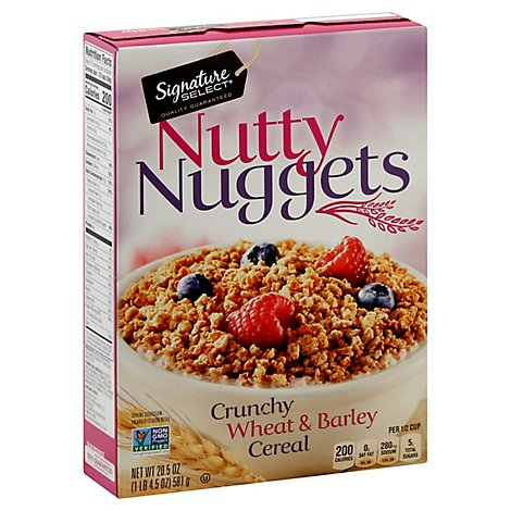 Signature SELECT Cereal Nutty Nuggets - 20.5 Oz