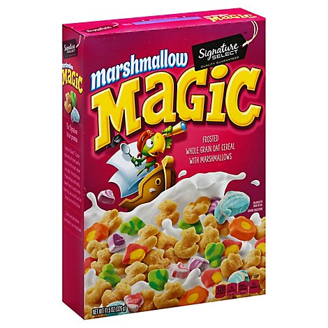 Signature Select With Oats Cereal Marshmallow Magic - 11.5 Oz