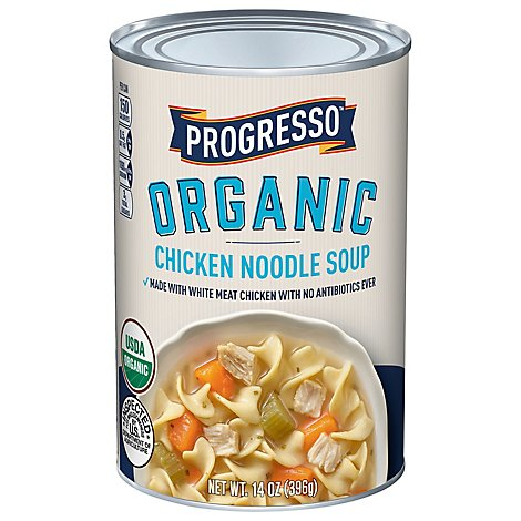 Progresso Organic Soup Chicken Noodle - 14 Oz
