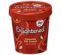 Enlightened Ice Cream Light Chocolate Peanut Butter 1 Pint - 473 Ml
