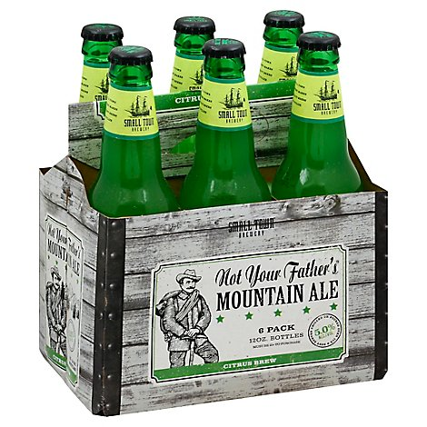 Not Your Fathers Beer Mountain Ale Citrus Brew - 6-12 Fl. Oz.