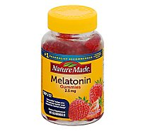 Nature Made Dietary Supplement Gummies Melatonin 2.5 Mg - 80 Count