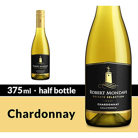 Robert Mondavi Private Selection Wine White Chardonnay - 375 Ml
