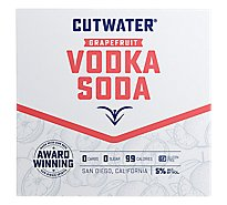 Cutwater Fugu Vodka Grapefruit Rtd - 4-12 Oz