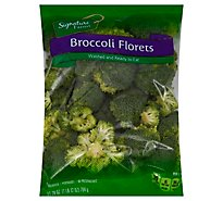 Signature Farms Broccoli Florets - 28 Oz