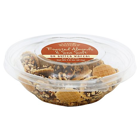 Lady Walton Cookie Wafer Roasted Almond - 7.5 Oz