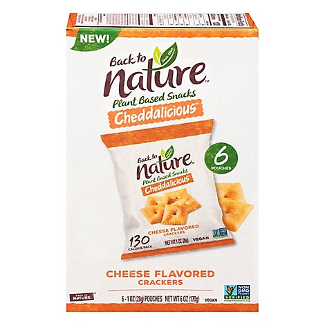 Back to Nature Cheddar - 8-1 Oz