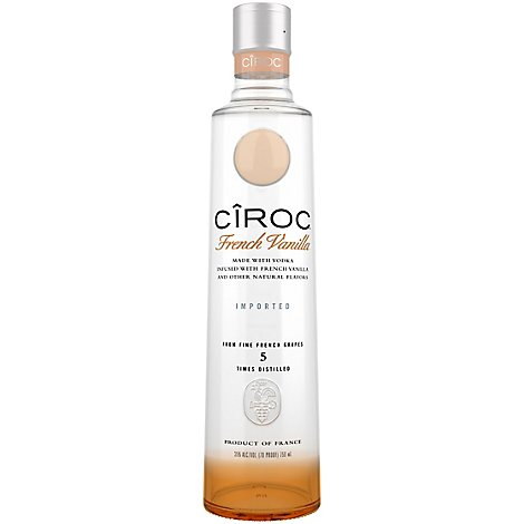 CIROC Vodka French Vanilla 70 Proof - 750 Ml