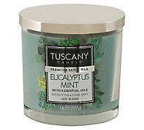 Tuscany Jar Eucalypts Mint - 14 Oz