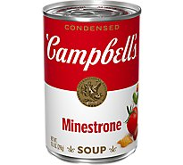 Campbells Soup Condensed Minestrone - 10.5 Oz