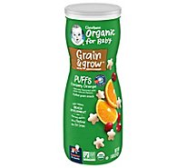 Gerber Organic Puffs Cranberry Orange 1.48 Oz
