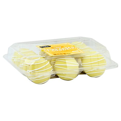 Signature SELECT Cake Cookies Iced Lemon Drizzle - 11.5 Oz