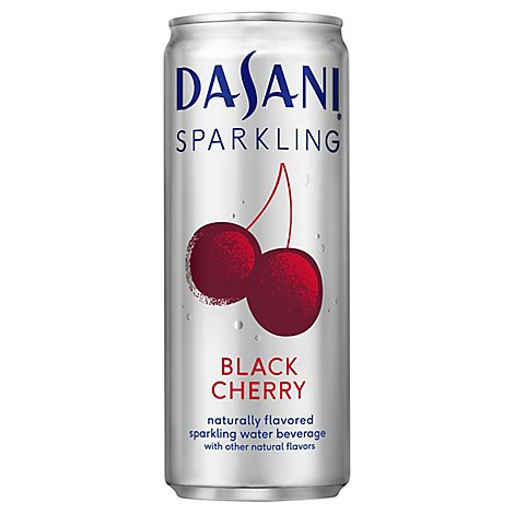 Dasani Sparkling Black Cherry - 7.5 Fl. Oz.