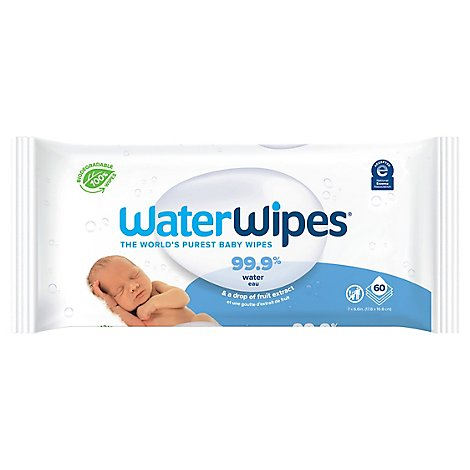 WaterWipes Baby Wipes - 60 Count