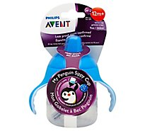 Avent 9z My Penguin Sippy Cp - 1 Count