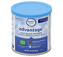 Signature Care Adv Formula W/Iron - 12.4 Oz