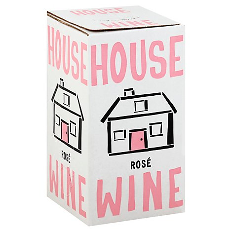 House Wine Rose Box Wine - 3 Liter