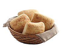 Fresh Baked Ciabatta - 4 Count