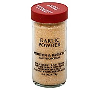 Morton & Bassett Garlic Powder - 2.6 Oz