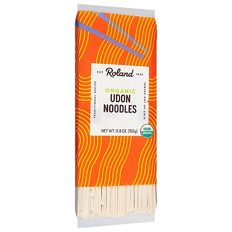 Roland Organic Udon Noodles Traditional - 12.8 Oz