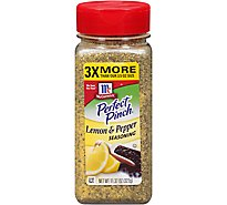 McCormick Perfect Pinch Lemon & Pepper Seasoning - 11.37 Oz