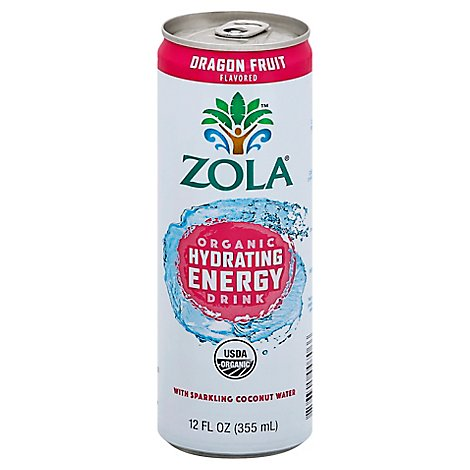 Zola Energy Dragon Fruit - 12 Fl. Oz.