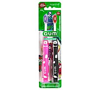Gum Monsterz Jr Tbrsh - 2 Count