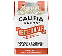Califia Farms Better Hf Ccnt Crm/Alm Milk - 16.9 Fl. Oz.